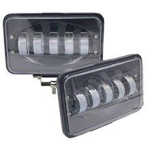 Yait 2 stücke 50W 6 inch LED Arbeit Licht Flut Fahren Lampe für Auto Lkw anhänger SUV Offroads Boot 12V 24V 4X4 4WD Led Licht Bar