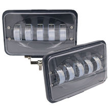 Yait 2 pces 50 w 6 polegada conduziu a luz do trabalho inundação que conduz a lâmpada para o reboque do caminhão do carro suv offroads barco 12 v 24 v 4x4 4wd conduziu a barra clara