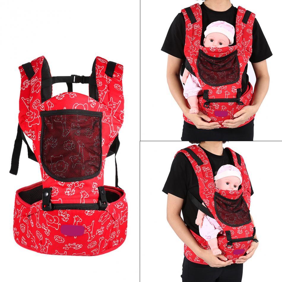 Ergonomic Breatheable Adjustable Ergonomic Baby Carrier Hip Seat For Newborn 5