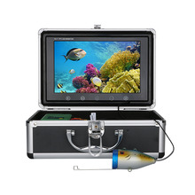 9Inch 15M 30M 50M 1000TVL Fish Finder Underwater Fishing Camera 15pcs White LEDs + 15pcs Infrared Lamp For Ice/Sea/River Fishing 15pcs snow white
