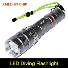 Ultra brightness Torch XM-L2 U3 2000Lumen Led Diving Flashli