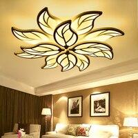 Современные акриловые светодио дный потолочные светильники для гостиной спальня столовая дома luminarias освещение потолочный светильник свет
