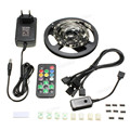 High Quality Waterproof 5050 RGB LED Light Strip beautiful  Car Lamp Set Strip for Aquarium TV Decoration + 20Keys Remote
