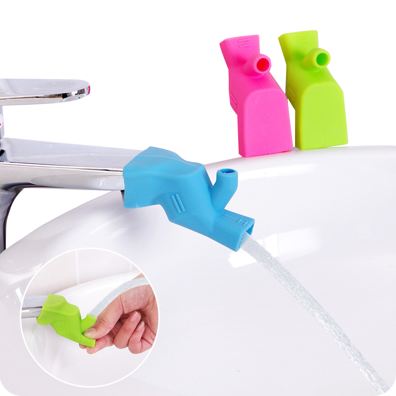 Soft Silicone Water Tap Extension Device Bathroom Kitchen Accessories Faucet Extenders Guide Kids Wash Hands Auxiliary Tools