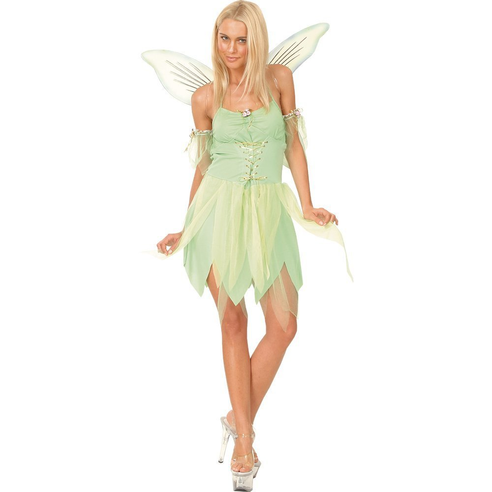 Adult Girl Deluxe Green Princess Costume And The Pirate Flower Fiction Peplum Dress Purple Tinkerbell Fairy Fancy With Wing In Sexy Costumes From Novelty Special Use On