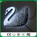 Beautiful factory outlet led 3D carta LEVOU acrílico luz/placa do sinal para a loja
