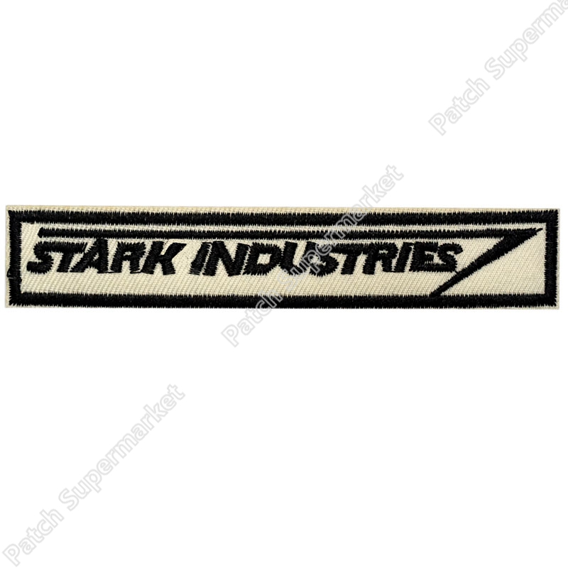 STARK INDUSTRIES Staff Uniform Movie Jacket Patch TV movie film retro sew applique iron on patch Patch(China)
