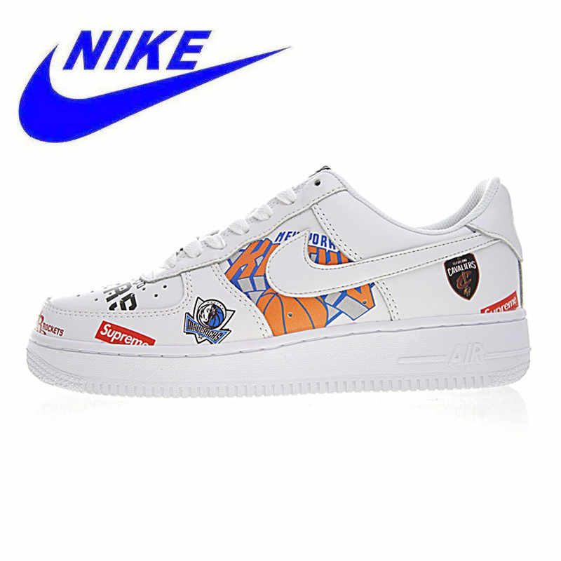 04f229ee140a Detail Feedback Questions about Official Nike Air Force NBA AF1 Men  Skateboarding Shoes