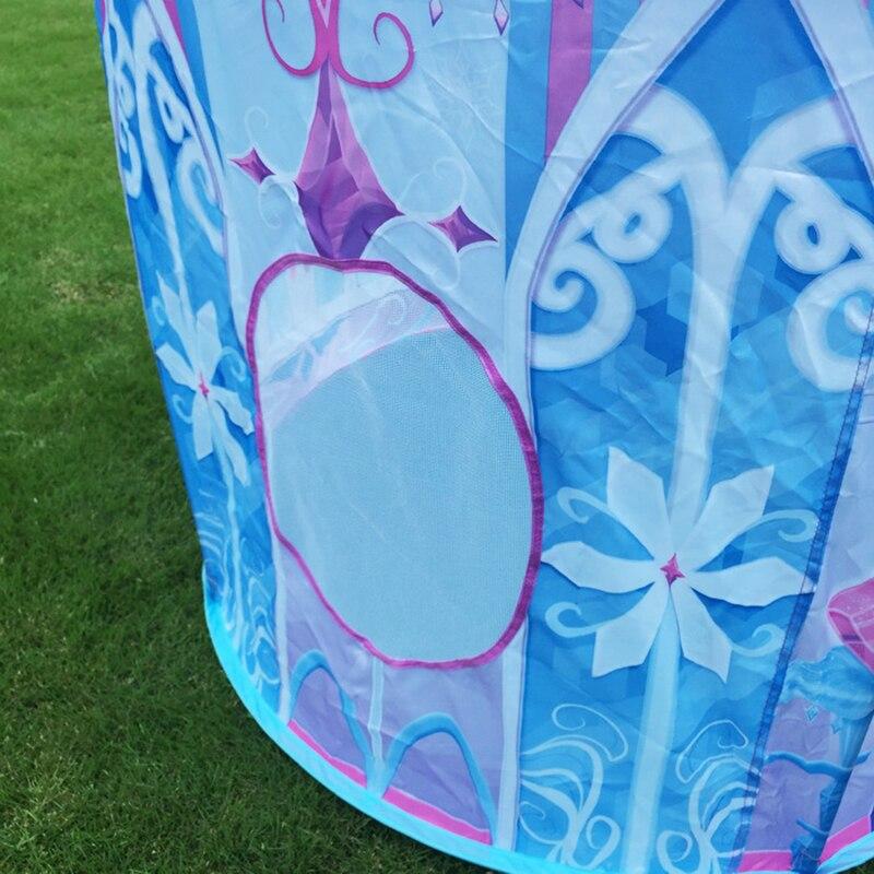 2017 Top Sell Kids Play Tent Juego de niños Casa Ice Princess Tent - Deportes y aire libre - foto 4