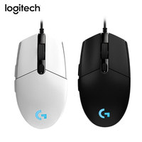 Logitech G102 8000DPI RGB Gaming Mouse Macro Programmable Mechanical Buttons Wired Mouse for PUBG/Overwatch/LOL Games mice