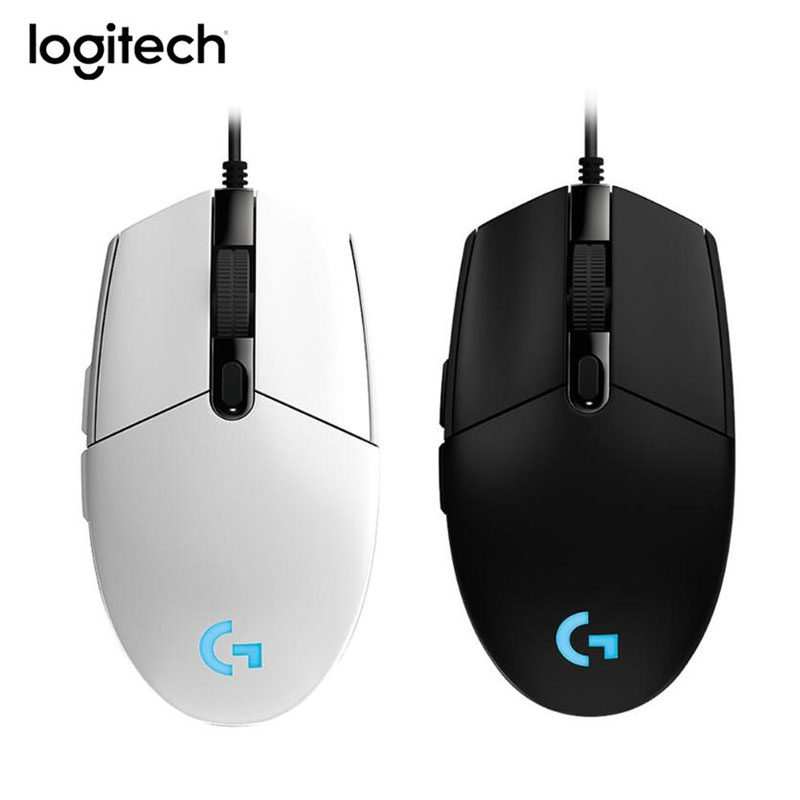 Image 2 - Logitech G102 Gaming Mouse 8000DPI RGB Macro Programmable Mechanical Buttons Wired Mouse for PUBG/Overwatch/LOL Games miceMice   - AliExpress