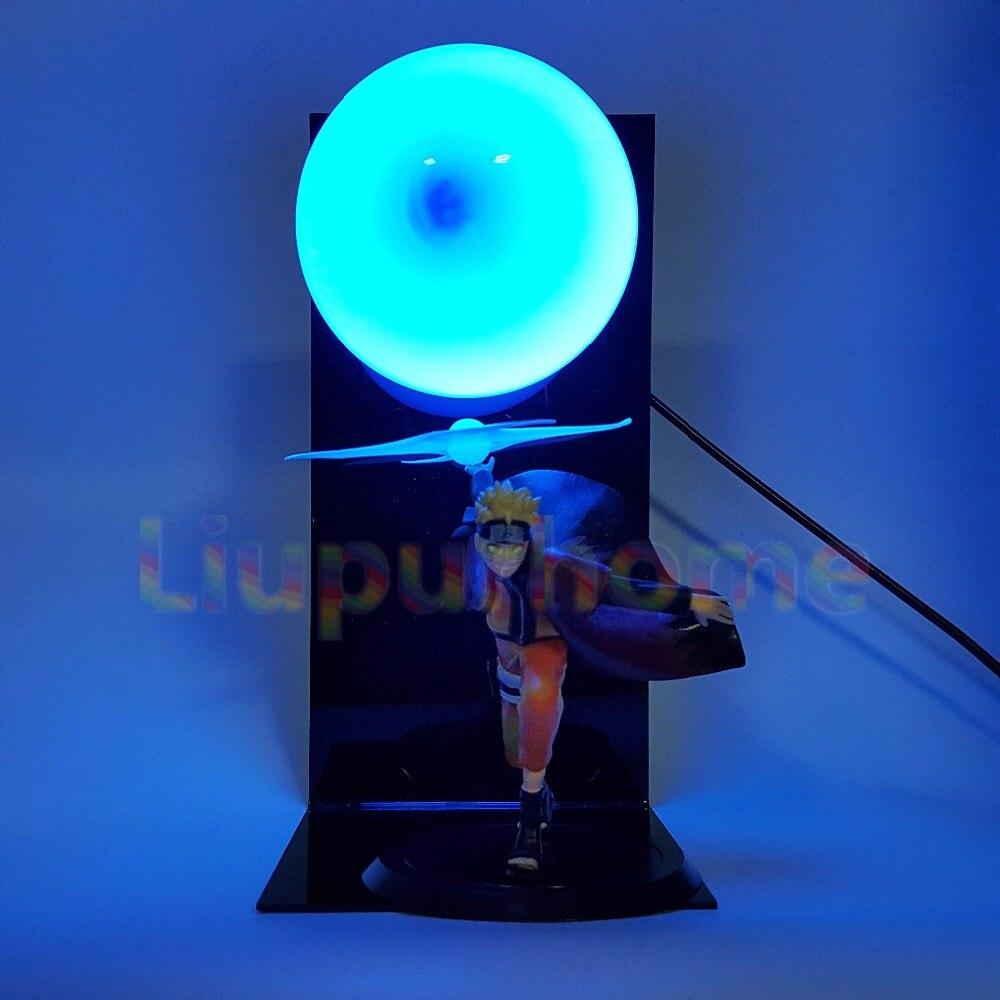 Naruto Rasengan DIY Led Light Uzumaki Naruto Led Night Lights Lamp Blub For Christmas Gift Anime Naruto Shippuden Toy