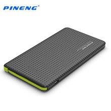 Оригинальный 5000 мАч Pineng Mobile Power Bank быстрой зарядки внешняя батарея портативное зарядное устройство литий-полимерный аккумулятор для Android телефоны