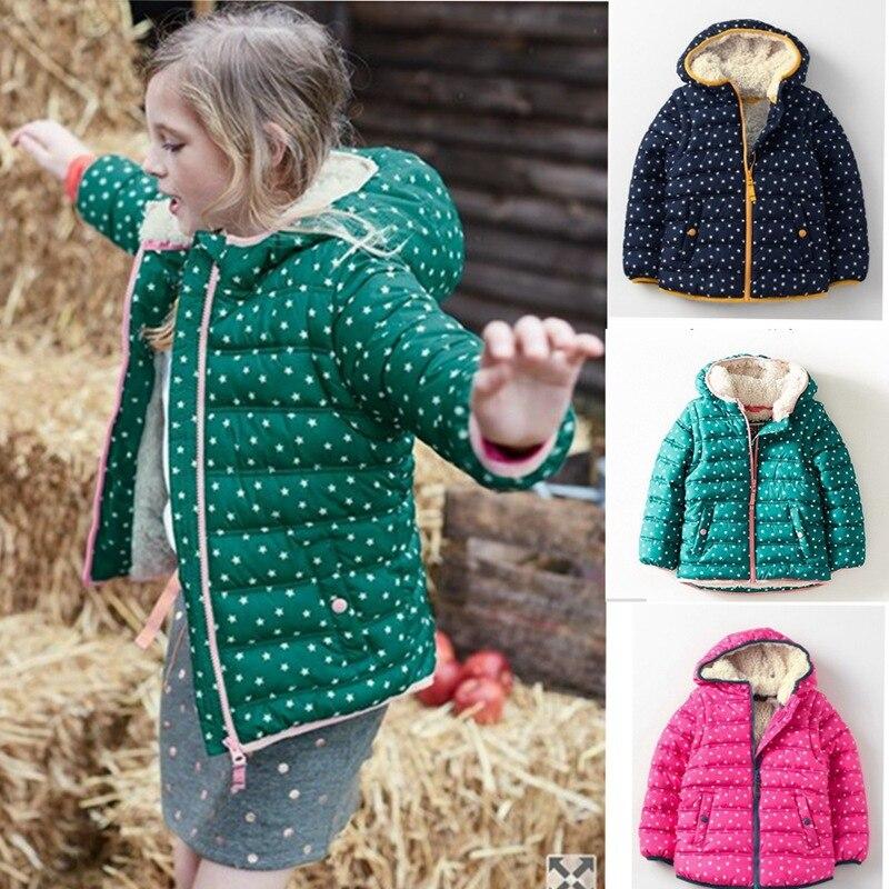 От 0 до 8 лет пальто для маленьких девочек Хлопковое пальто с капюшоном осень-зима теплые куртки дети Обувь для мальчиков Обувь для девочек т...