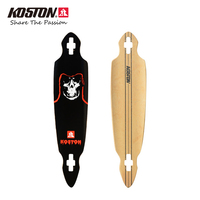 KOSTON Pro Longboard Deck With 8ply Hard Rock Canadian Maple Hot Air Pressed Popular Long Skateboard