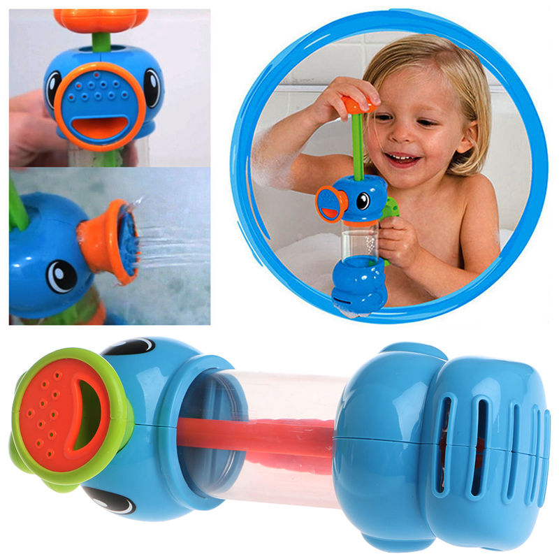New Duck Shape Pump Spray Water Bath Swimming Pool Playing Toys for Child Kids Baby Gift
