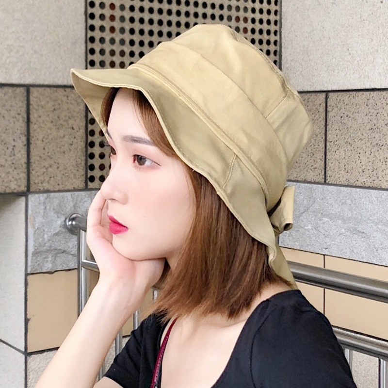 Cotton Bucket Hats Leisure Fisherman Hat Outdoor Fishing Caps Climbing Mountaineering Fisherman Cap UV Protection Cap Foldable