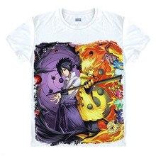 Camiseta de Anime de Naruto, camiseta de Uchiha Sasuke, disfraz Cosplay de Naruto BORUTO, Uchiha Itachi Shuriken Uzumaki