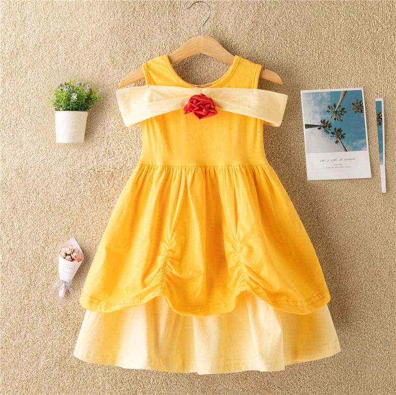 Snow White Princess Dress for Toddler Baby Kid Girls Halloween Fancy Costume