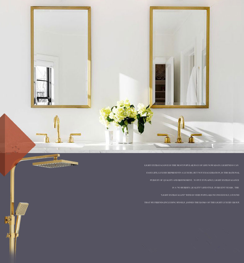 HTB1.AT5THrpK1RjSZTEq6AWAVXaH Bathroom Faucet Solid Brass Bathroom Basin Faucet Cold And Hot Water Mixer Sink Tap Single Handle Deck Mounted Brushed Gold Tap