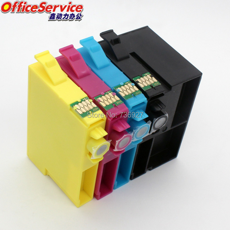 16X=4Sets T2521 T252XL Compatible Ink Cartridges For Epson
