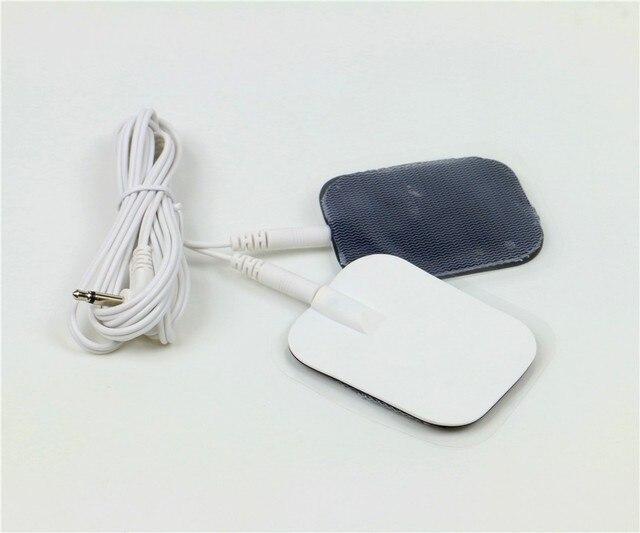 Электрода Колодки Пульс Pad Импульс Tablet EMS Массаж Детокс Массажер Для Ног Патчи Терапия Машина Иглоукалывание EMS Pad 5 pairs E03