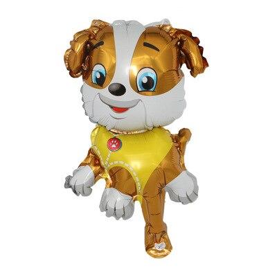 Хит, Paw Patrol, украшение на день рождения, фигурки, игрушки, Щенячий патруль, воздушные шары, вечерние, декор для комнаты, Чейз, Маршалл, баллон, детские игрушки для девочек - Цвет: Small Size 01
