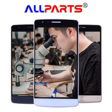 """100% тестирование 5.0 """"1280×720 Оригинал LG G3 мини ЖК-дисплей Дисплей с Рамка Digitizer Замена LG G3 s ЖК-дисплей Экран G3S D722 D724 ЖК-дисплей"""
