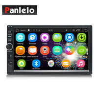 Car MP5 Player In Dash Head Unit Video Music 2 Din 7 Inch 1GB RAM 16GB ROM Touch Screen Bluetooth SWC Wi-Fi Android Quad Core