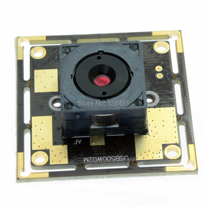 5.0 mégapixels 2592*1944 CMOS OV5640 MJPEG & YUY2 module de caméra usb Autofocus android pour la vidéoconférence
