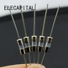 50 шт./лот 3*10 мм 5 значений предохранители в ассортименте комплект M125 со штифтовым соединением, с электронный Компоненты 0.5A 1A 2A 3A 5A