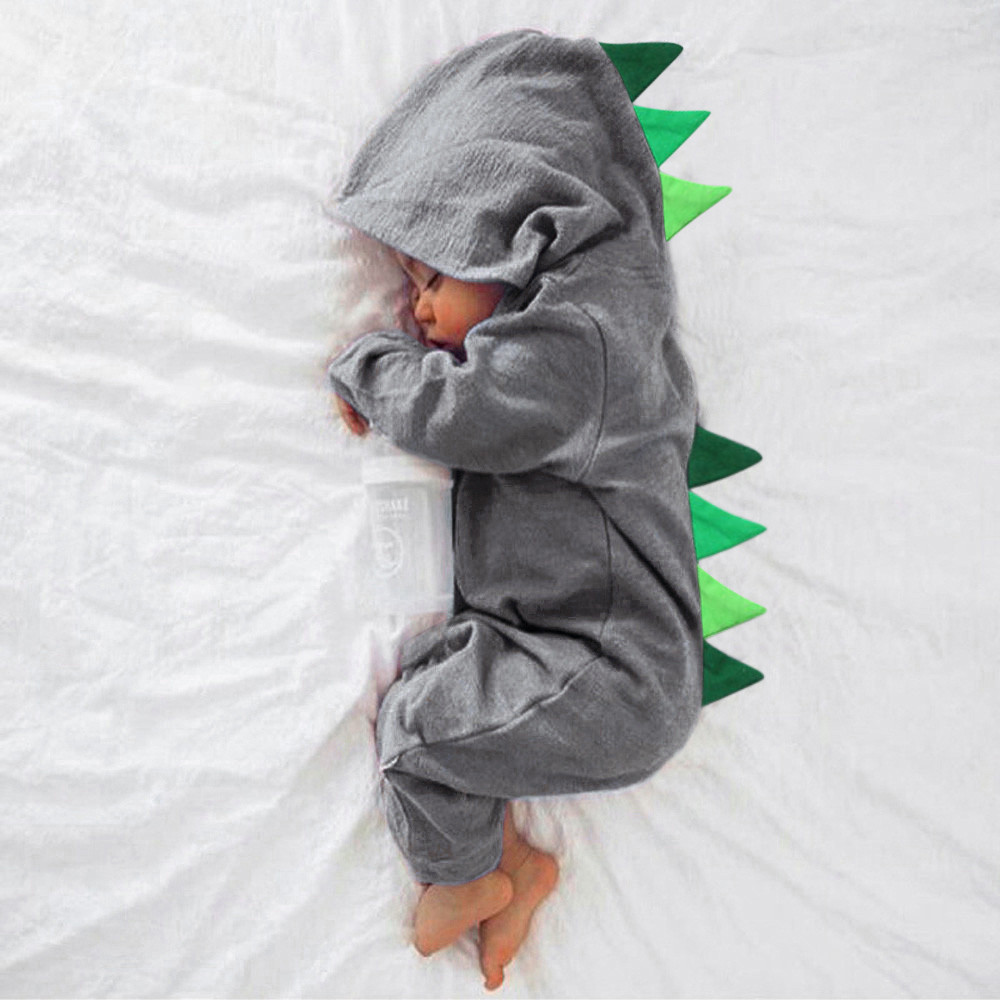 2f2e2208f126 New Baby Cute Clothes Long Sleeve Dragon Animals Newborn Clothing ...