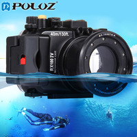 PULUZ 40m 1560 Inch 130 Ft Depth Underwater Swimming Diving Case Waterproof Camera Bag Housing Case