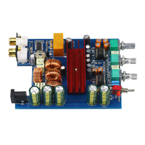 Image 3 - Placa amplificadora Bluetooth portátil TPA3116 100W * 2 TPA3116D2 2,0, amplificador Digital con ajuste de preamplificador para coche, uso doméstico, RCA DC24V