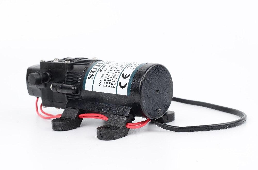 Surflo KDP-2104 DC 12 В ультра-тихий качество, стандарт FDA микро мембранный Водяной насос 2.6л/мин 80PSI переключатель давления контролируемый