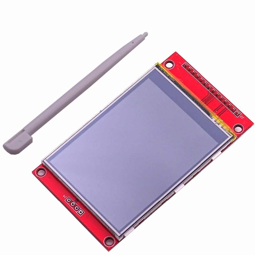 "2.8 ""240x320 SPI TFT LCD Seriële Poort Module Met PCB Adapter Micro SD ILI9341 5 V/ 3.3 V 2.8 inch LED Display Voor 5110 Interface"
