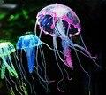 2016 эффект аквариум декор аквариум искусственные силиконовые яркий медузы