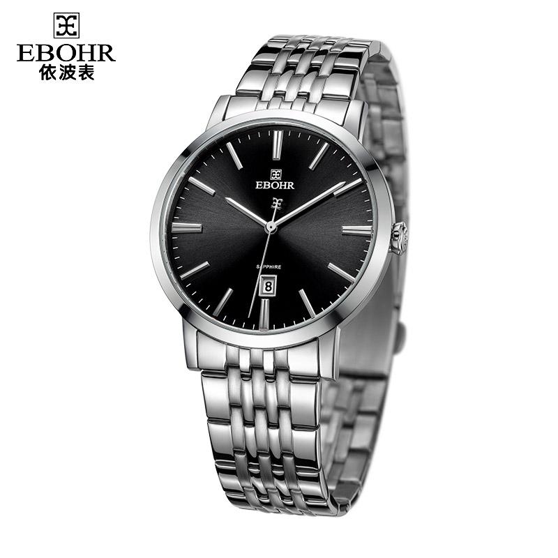 EBOHR brand luxury machinery successful men\'s quartz watch men\'s waterproof business fashion watch 2019 new Ebohr 10890110
