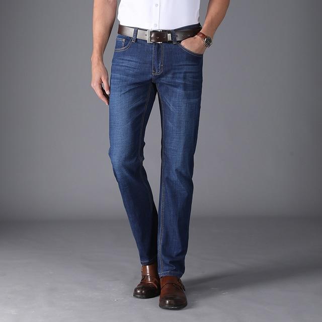 309e12c5bc Hombres Jeans Homme hombres clásicos pantalones Hip Hop Jean Ropa 2018 Ropa  Hombre De Marca Sobretudo