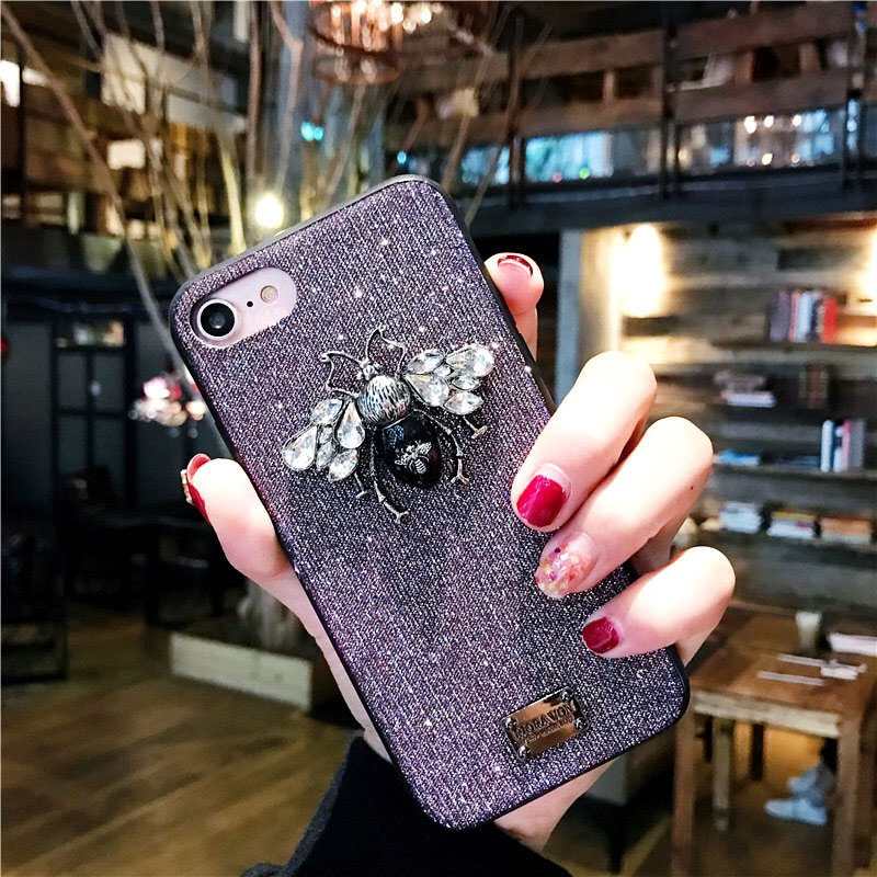 bling bling luxury cute iphone 6 6s 7 8 plus x xr xs max case  (12)
