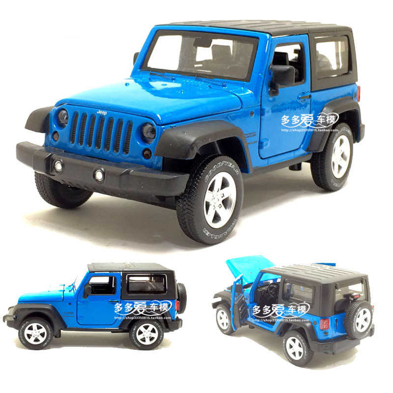 1/32 Scale JEEP Wrangler SUV Diecast Metal Car Toys With Pull Back Sound Light Car Toy For Children Gift Free Shipping