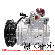 Car 10PA17C A/C AC Compressor For Kia Sorento I JC 2002-2009 977013E600 977013E601 Car Air Conditioner Compressor фаркоп kia sorento 2002