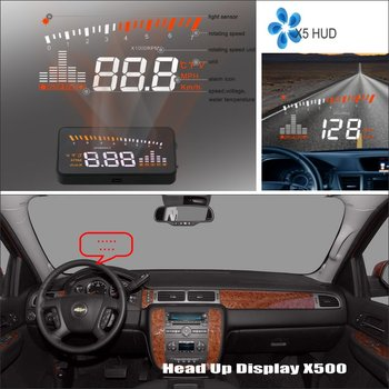 Car HUD Head Up Display For Chevrolet Avalanche Aveo Captiva Cobalt Equinox Driving Screen Projector Refkecting Windshield