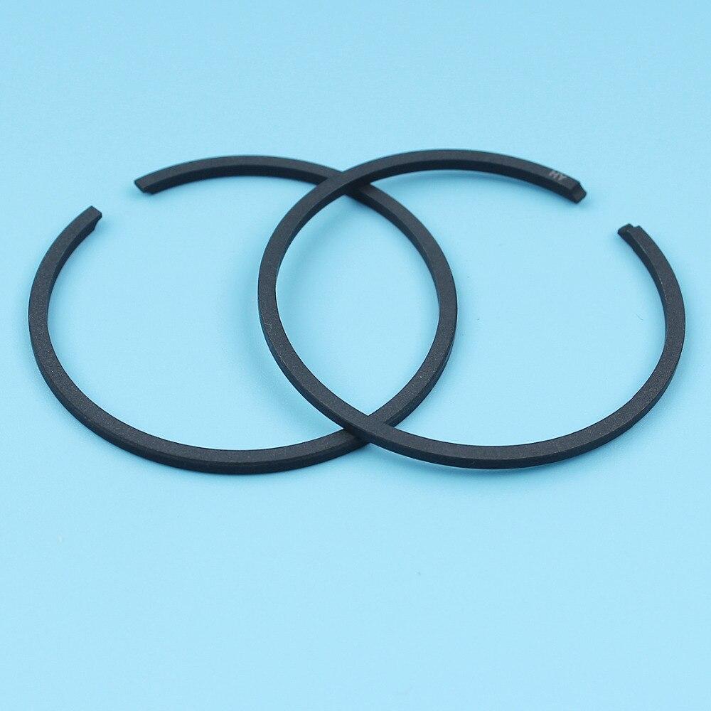 2pcs/lot 42mm Piston Rings For Husqvarna 343 F / FR / FRM, 343 R / RX, 345 F / FR / FRM, 345 R / RX Trimmer Brush Cutter