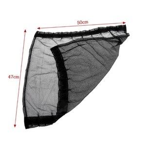 Image 4 - Universel noir maille Interlock VIP voiture fenêtre rideau pare soleil visière UV bloc