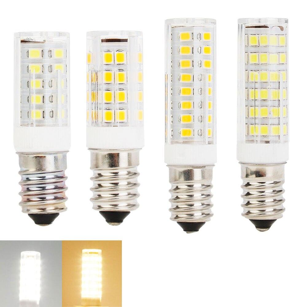 LED Bulb Light E14 220V Ceramic Lamp SMD2835 33 51 75LEDs 5W 6W 7W 9W Led Spotlight Lamps For Home Christmas Lighting
