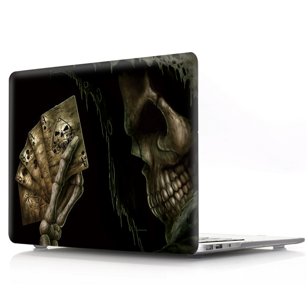 New Cover For MacBook Retina 12 13 15 Laptop Cover A1534 A1502 A1398 Cartoon Halloween Hard PC for mac book Retina 12 13 15 Case (8)