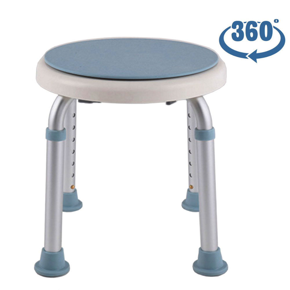 Tcare 360 Degree Rotating Bath/Shower Chair Stool - Bathtub Shower Stool for Handicapped and Seniors Disabled Elderly simply computing for seniors