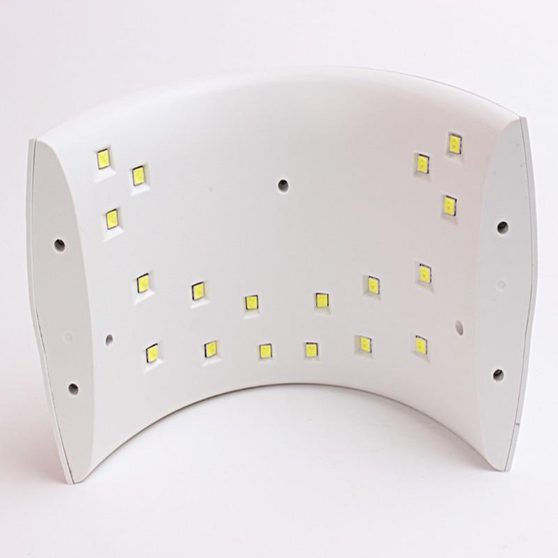 Лампа за нокти SUN9s PLUS 36W лак за нокти UV - Маникюр - Снимка 2