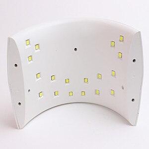 Image 2 - ランプ SUN9s プラス 36 9w ネイルアート Uv ランプ用ドラム Uv ゲル LED 泡ネイルジェル機赤外線 uv ランプ